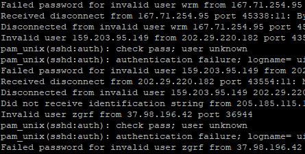 Malicious login attempts in Ubuntu