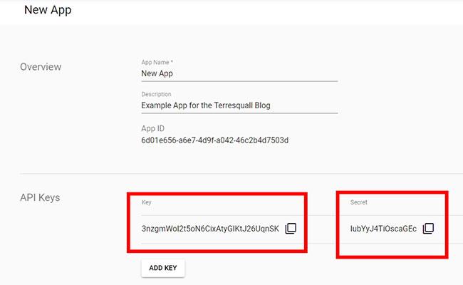 Keap / Infusionsoft API Keys