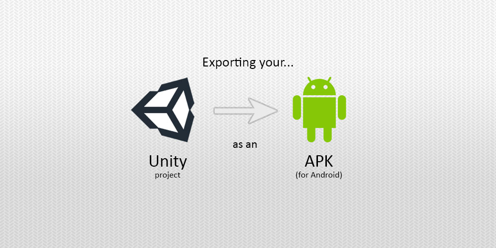 Exporting your Unity project as an APK