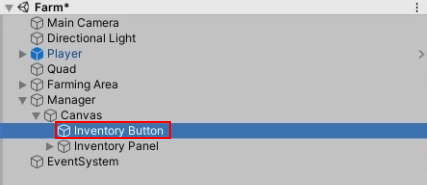 inventory button hierarchy order