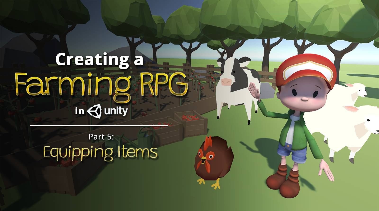 Creating a Farming RPG in Unity - Part 5: Equipping Items